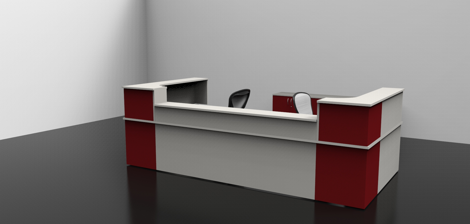 Photo arnold reception desk images home office modern for Office design guidelines uk