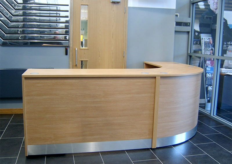 Image 48F/C - Flex reception counter - 900mm high