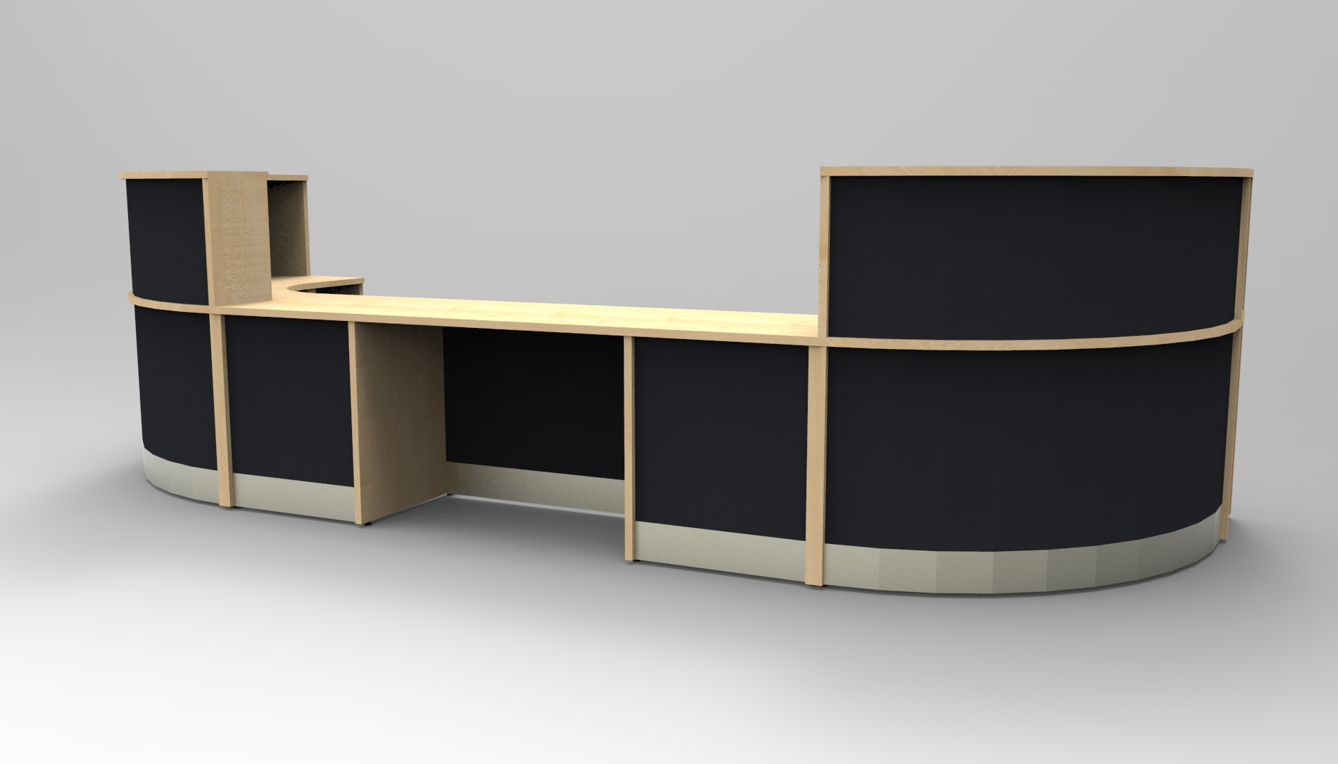Image 24/2 Large Flex DDA reception desk