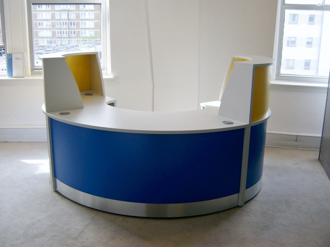 Image 1FP - Flex small Polo reception desk