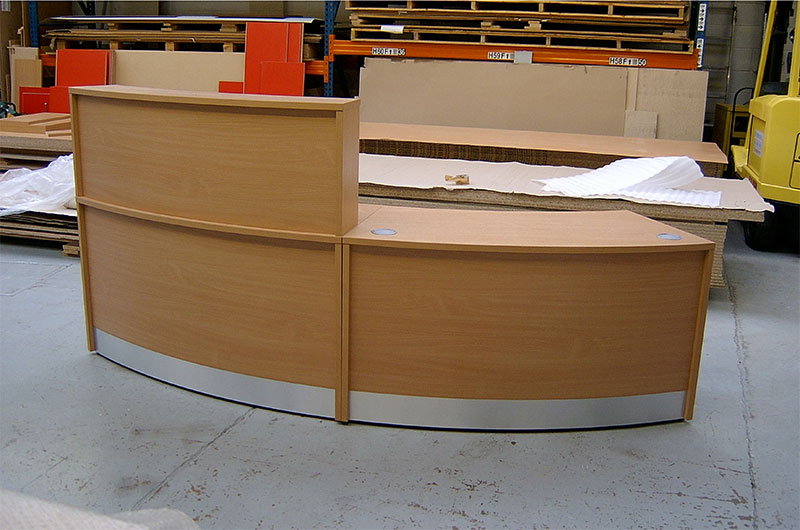 Image 78F - Flex curved reception desk -