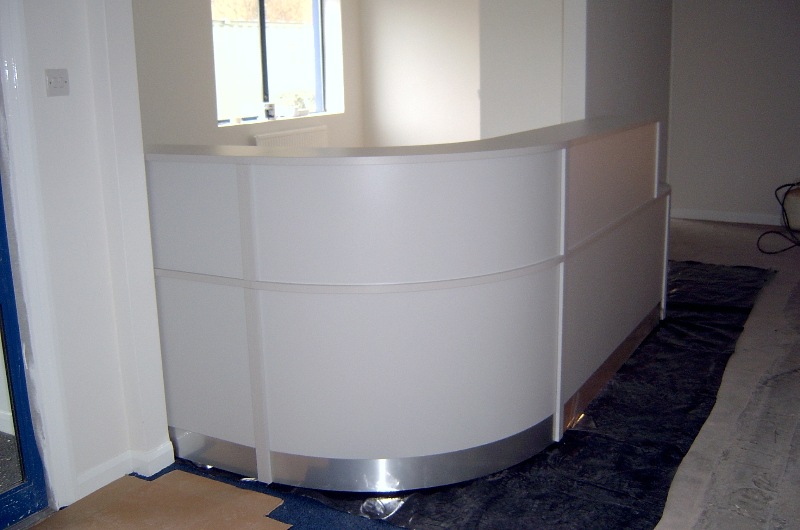 Image 69F - Flex reception desk -