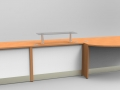 Image 17/2F -Flex bespoke DDA veterinary surgery reception desk