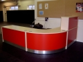 Image 5A- Flex standard modular unit reception desk