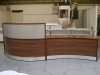 Image 44F/DC - Flex bespoke curved reception desk