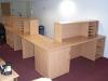 Image 63F/2 - Flex - Bespoke college reception desk - inside view showing the built in storage