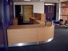 Image 59F/1 - Bespoke school Flex reception desk - side view