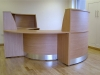 Image 41F - Flex Curved DDA reception desk