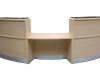 Image 68F - Flex Curved DDA school reception desk