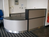 Image 7F - Flex reception desk, Black and Titanium