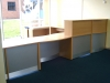 Image 80F/DDA - Flex Bespoke bow fronted DDA unit reception desk