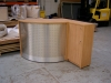 Image 49F/C - Flex reception counter 900mm high with matching cupboard