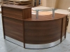 Image 56F/CP - Unit A .Flex Compact reception desk- half height top unit.