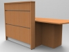 Union Reception desk -Beech