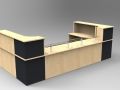 Image 37C - Classic Maple & Graphite with Glass shelves