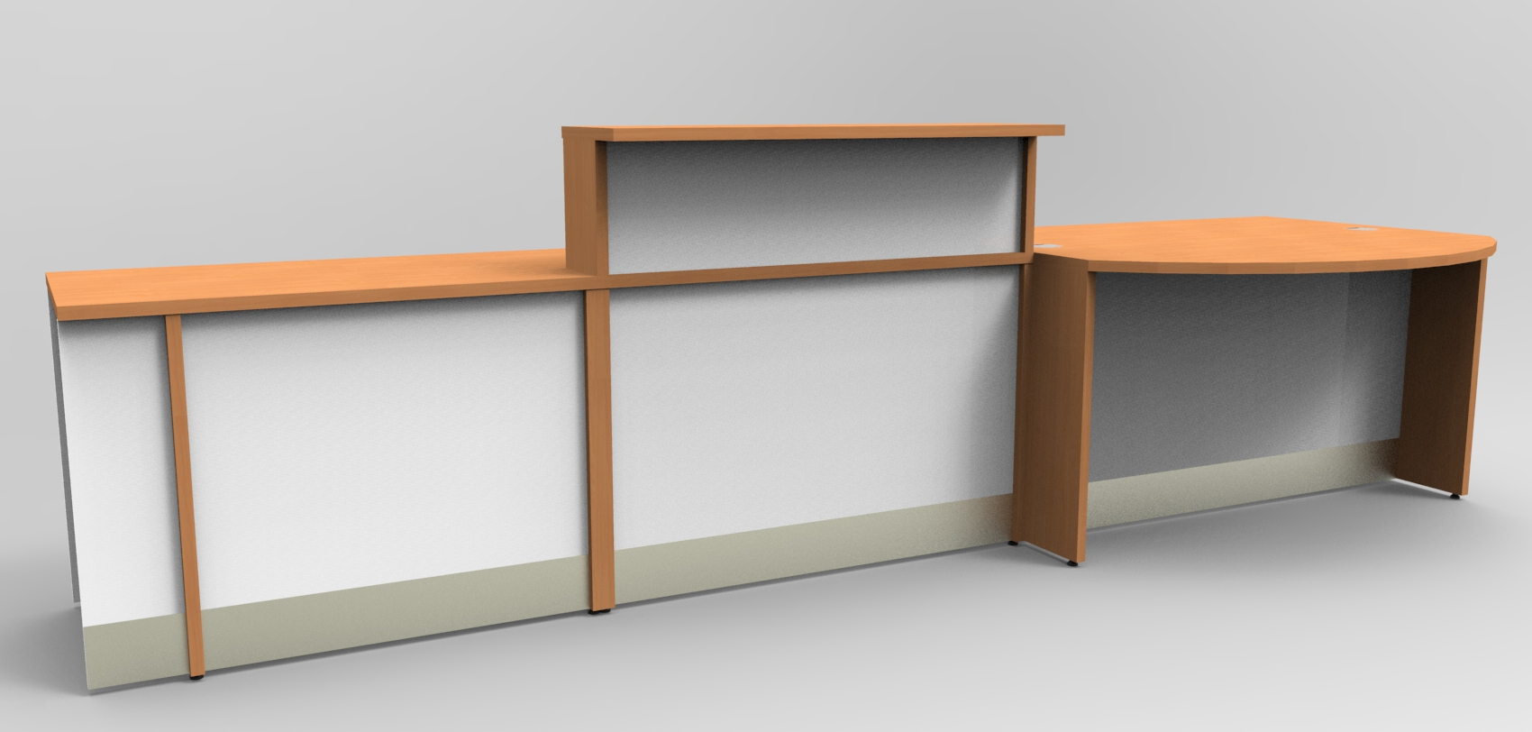 Image -17/1F - Flex bespoke DDA veterinary surgery reception desk