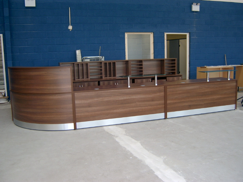Image 45F- Flex reception desk  - front view