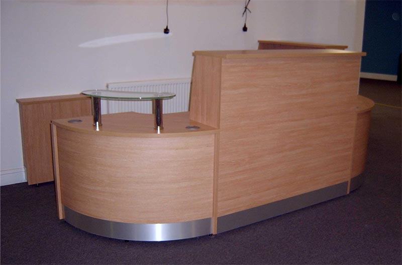 Image 79F/FF - Flex Full Front reception desk