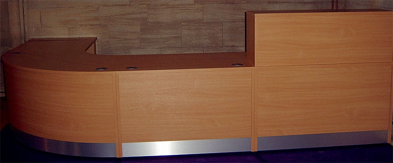 Image 81F - Flex standard reception desk