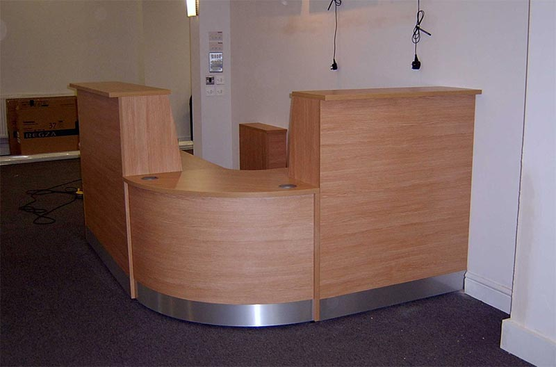 Image 79/FF2 - Flex Full Front reception desk