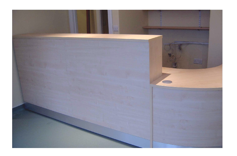 Image 58FF2 - Full front Flex vetierinary surgery reception desk - view 2