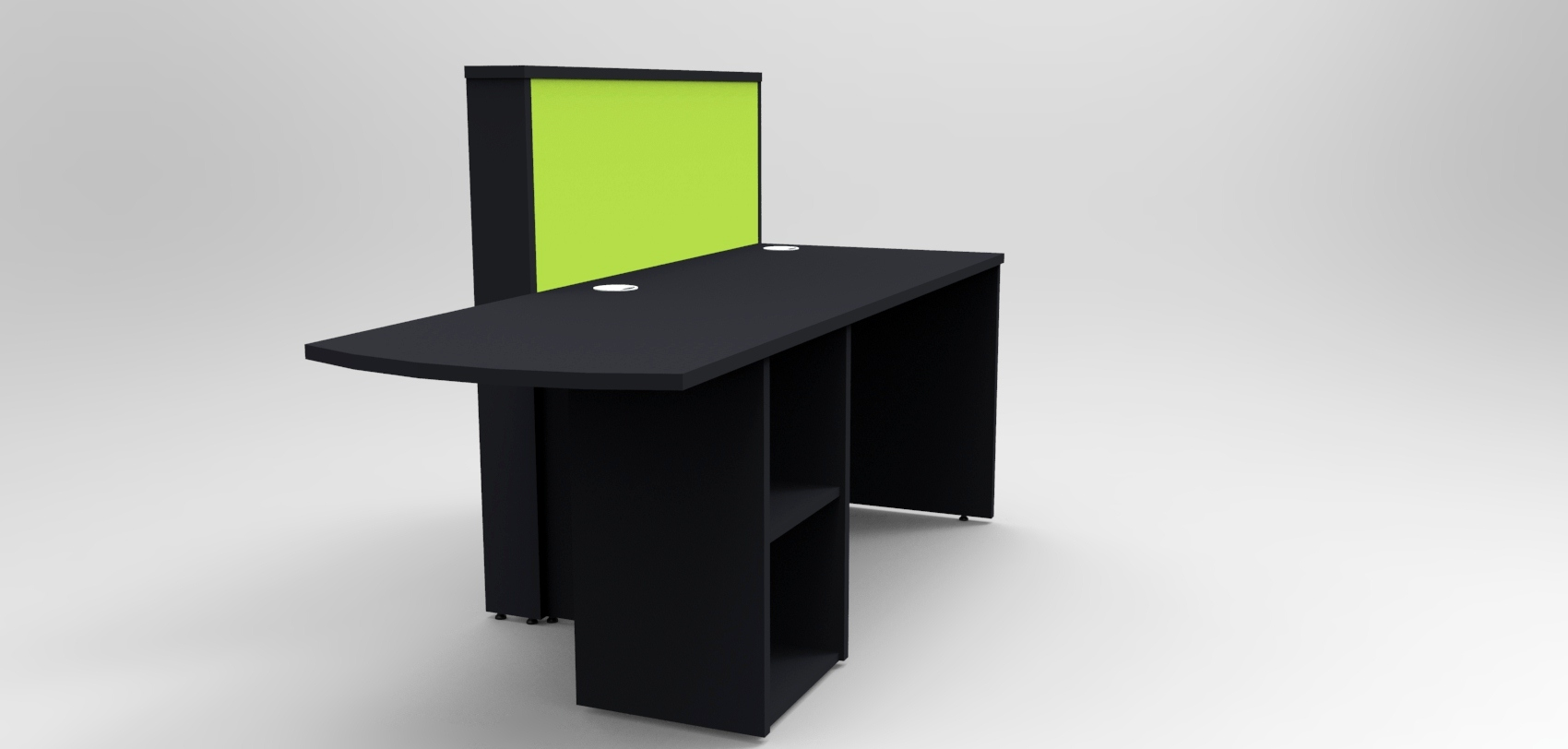 Union Compact- Green and Black
